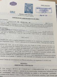 traduccion contrato inglés